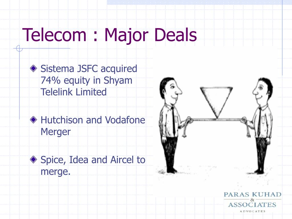 Telecom : Major Deals
