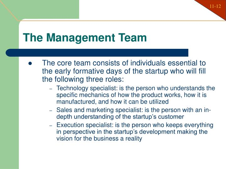 The Management Team