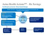 aetna health actions sm rx savings