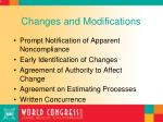 changes and modifications47
