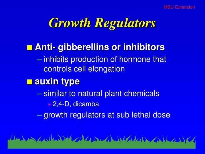 Growth regulators