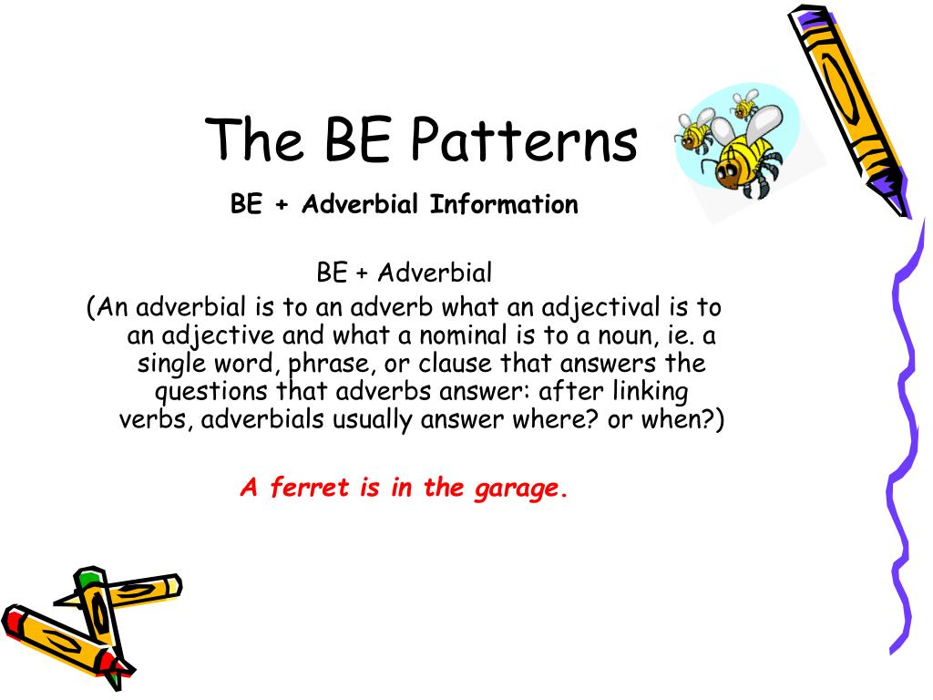 The BE Patterns