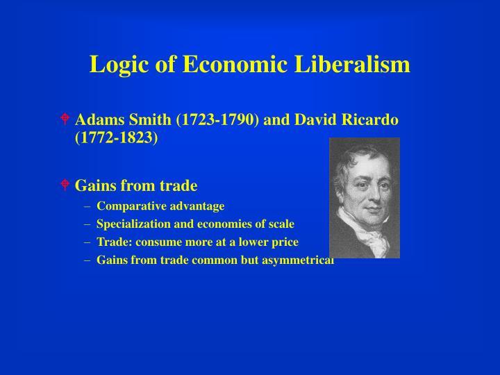 Logic of Economic Liberalism