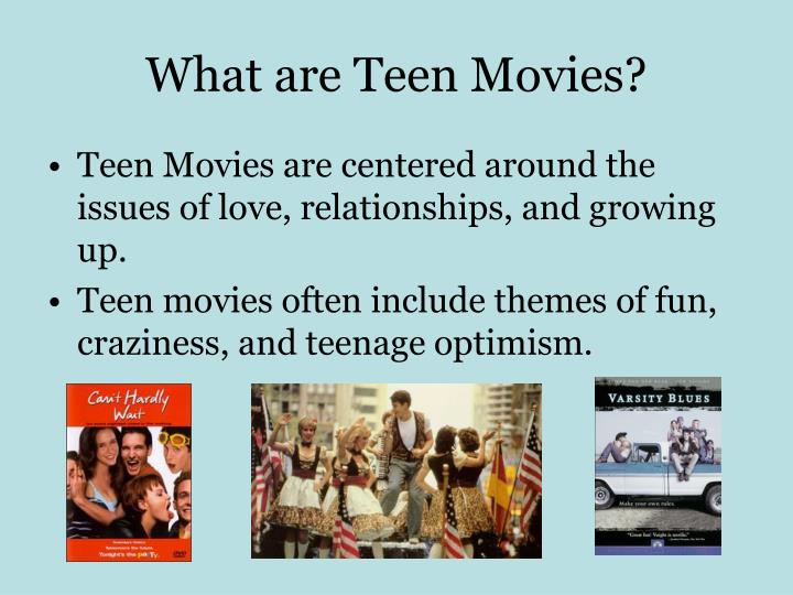 cliches of teen movies essay Mean girls, clueless, high school musical, legally blond and 95 more.