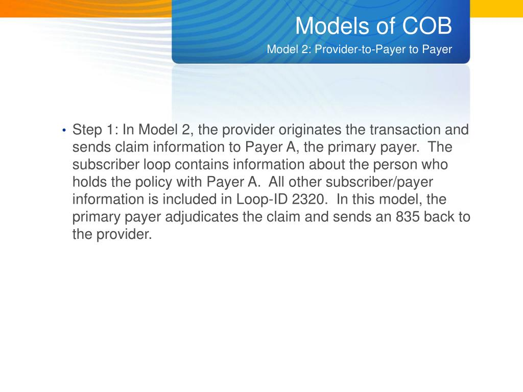 Models of COB