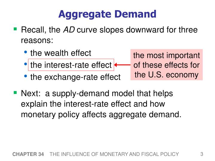 the most important of these effects for the U.S. economy