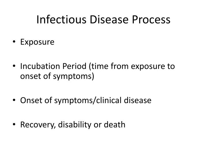 Infectious Disease Process