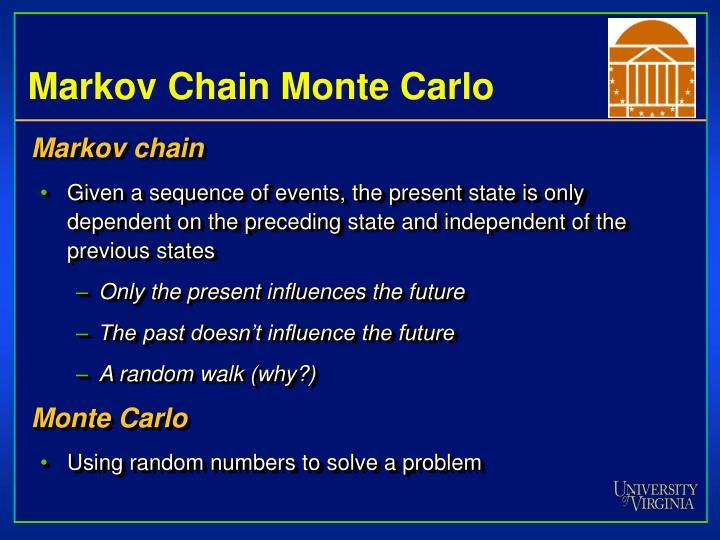 Markov Chain Monte Carlo