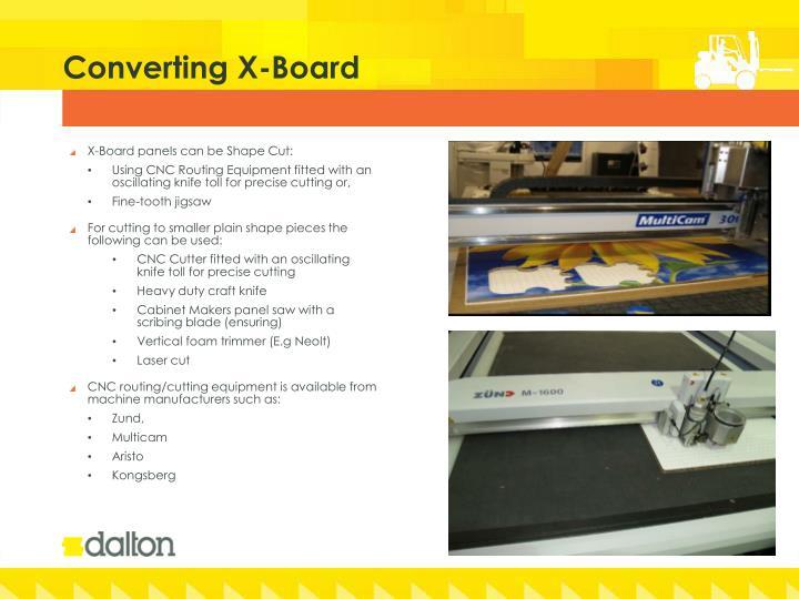 Converting x board1