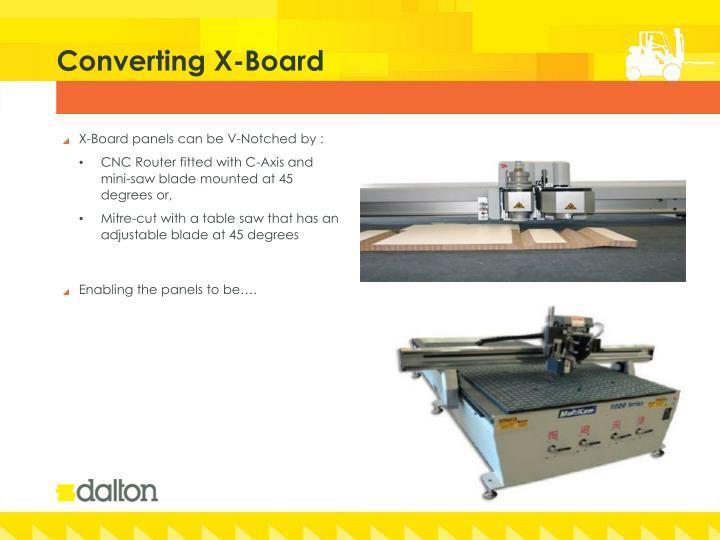 Converting X-Board