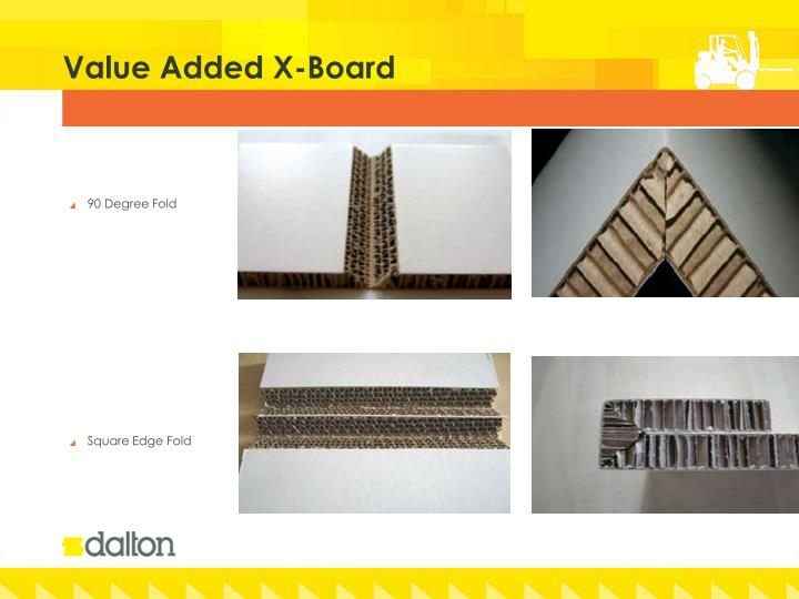 Value Added X-Board