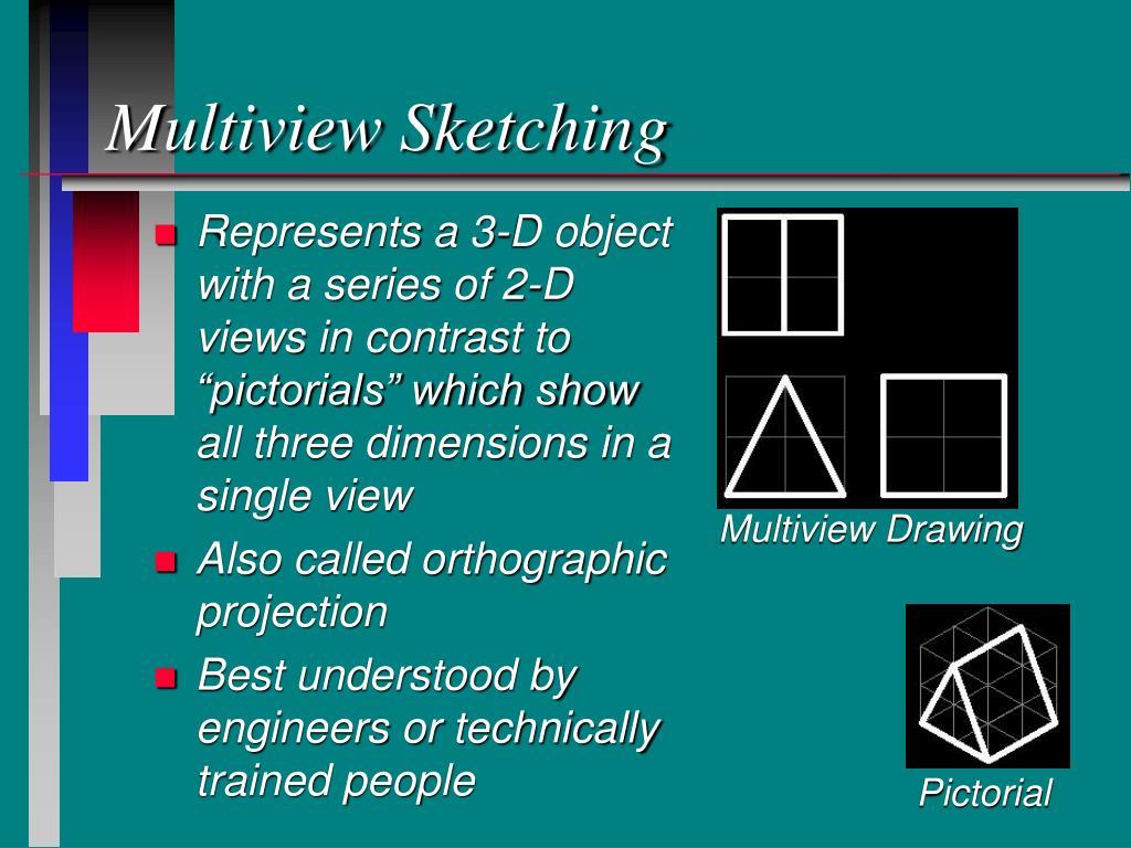 Multiview Sketching