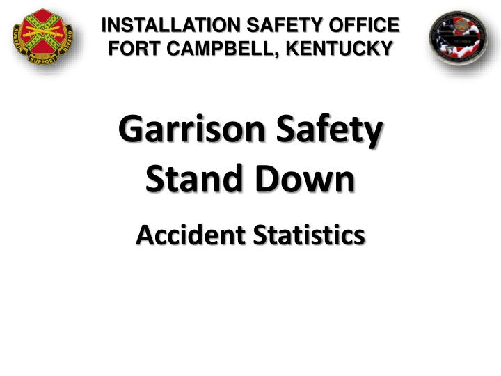 Garrison safety stand down1