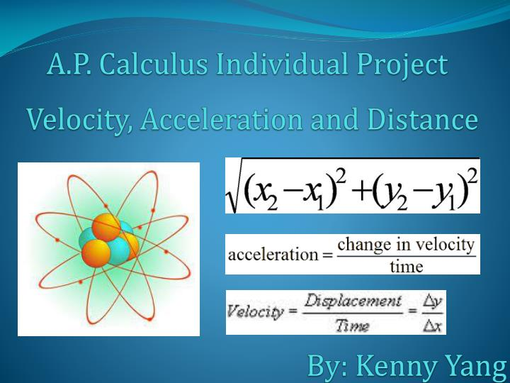 velocity acceleration and distance n.