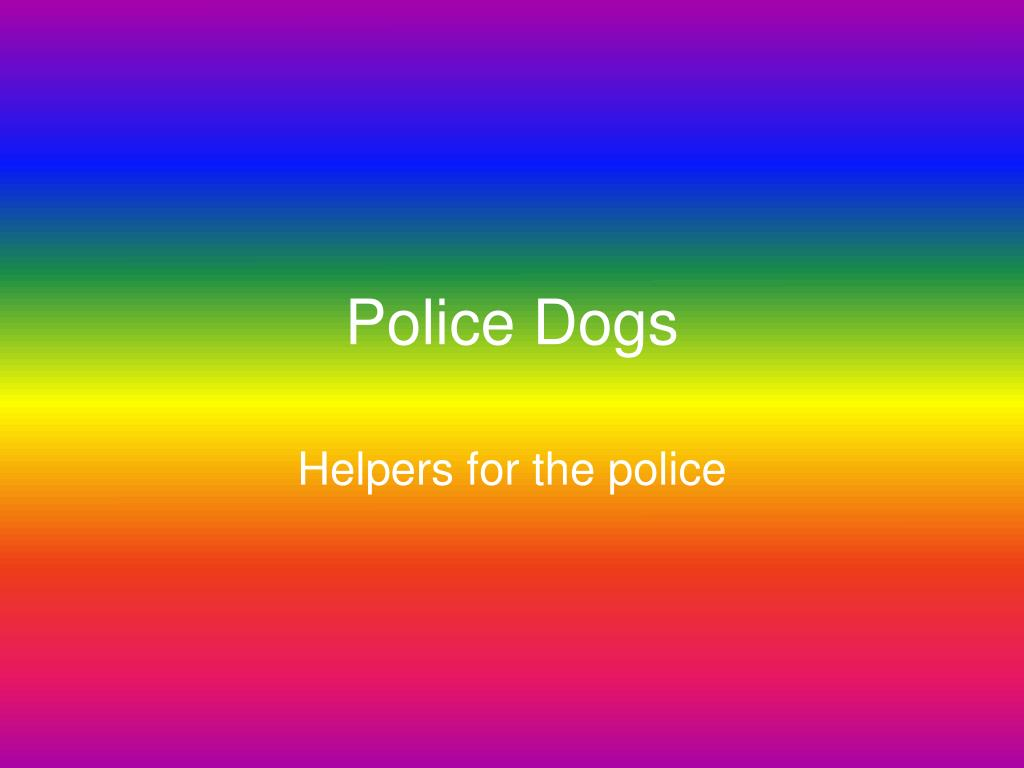 police dogs l.