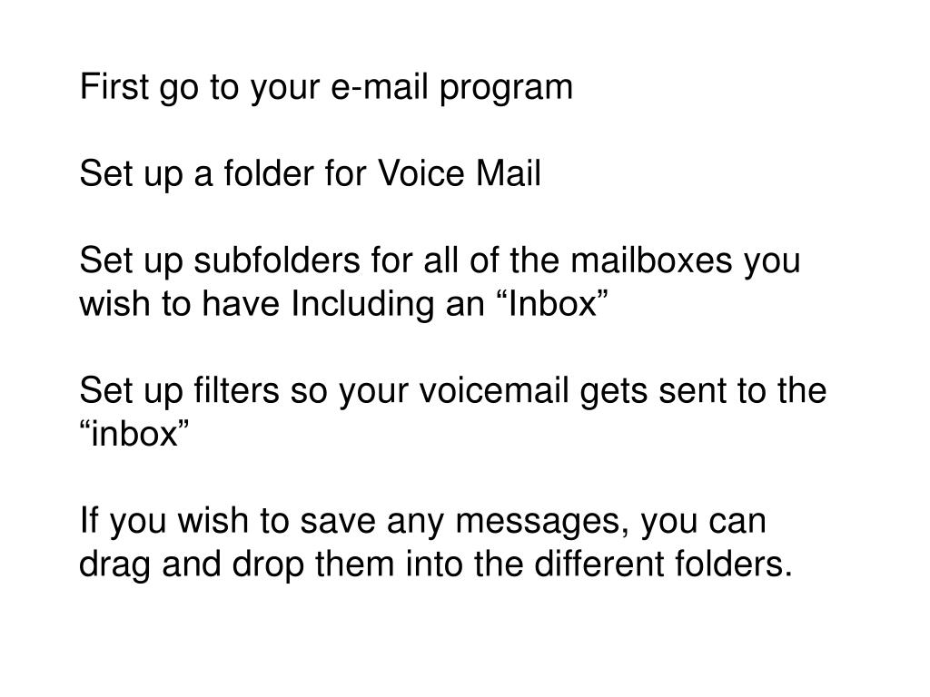 First go to your e-mail program