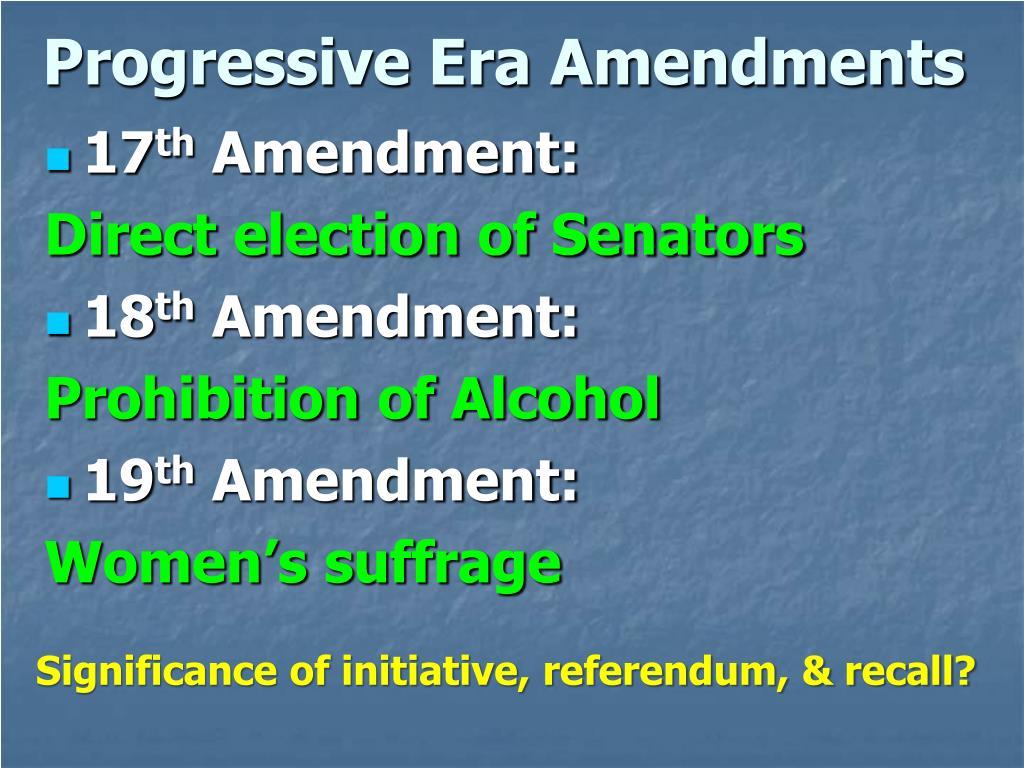 PPT - The Progressive Era 1880-1920 PowerPoint ...