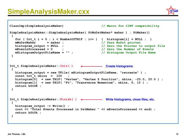 SimpleAnalysisMaker.cxx