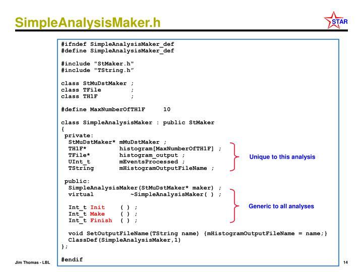 SimpleAnalysisMaker.h