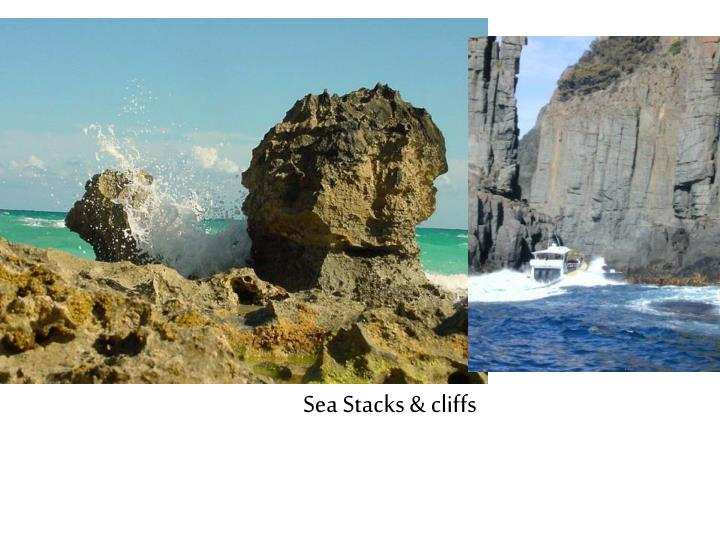 Sea Stacks & cliffs