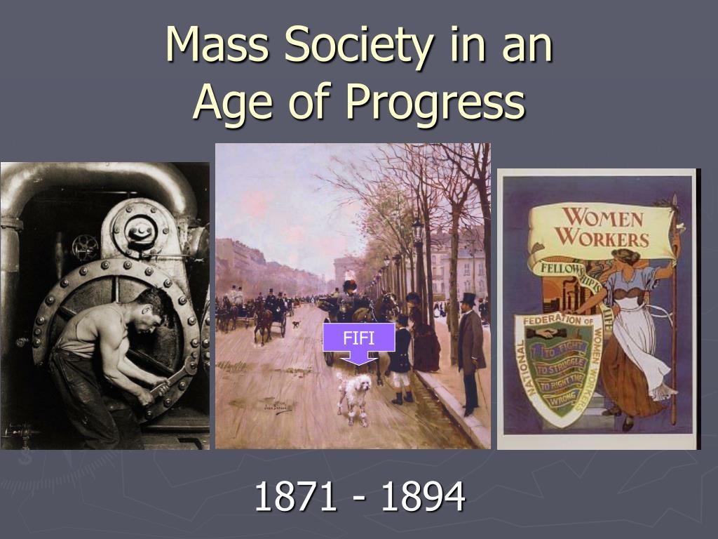 age of progress ww1