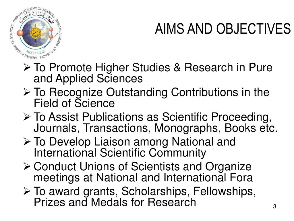 aims and objectives 1