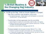 1 british muslims the changing hajj industry1