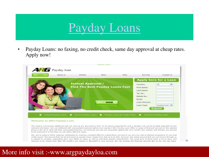 Green cash payday loans photo 6