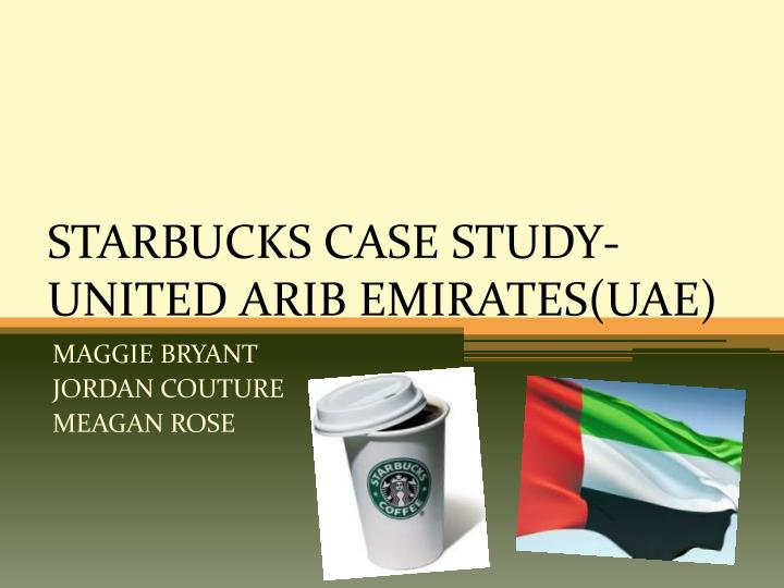starbucks case report Starbucks has overcome organizational and managerial implications that will serve as a strong model for international businesses the researcher will then give strategy and.