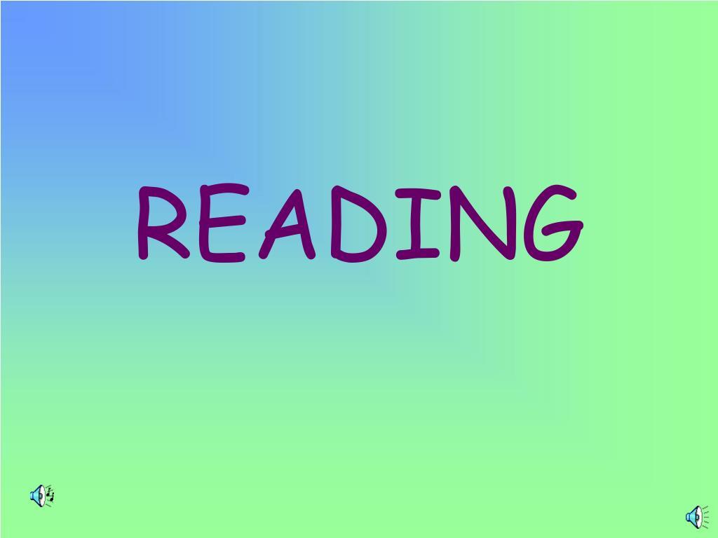 reading l.
