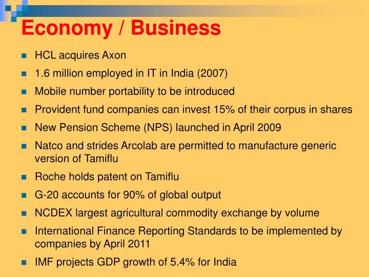 Economy / Business