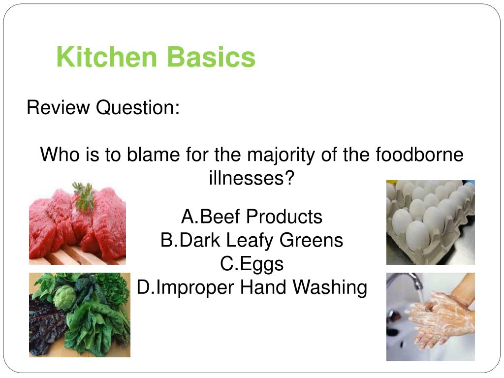 Ppt Kitchen Basics Powerpoint Presentation Free