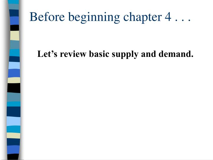 before beginning chapter 4 n.