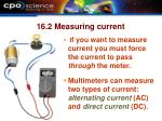 16 2 measuring current