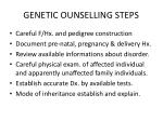 genetic ounselling steps1