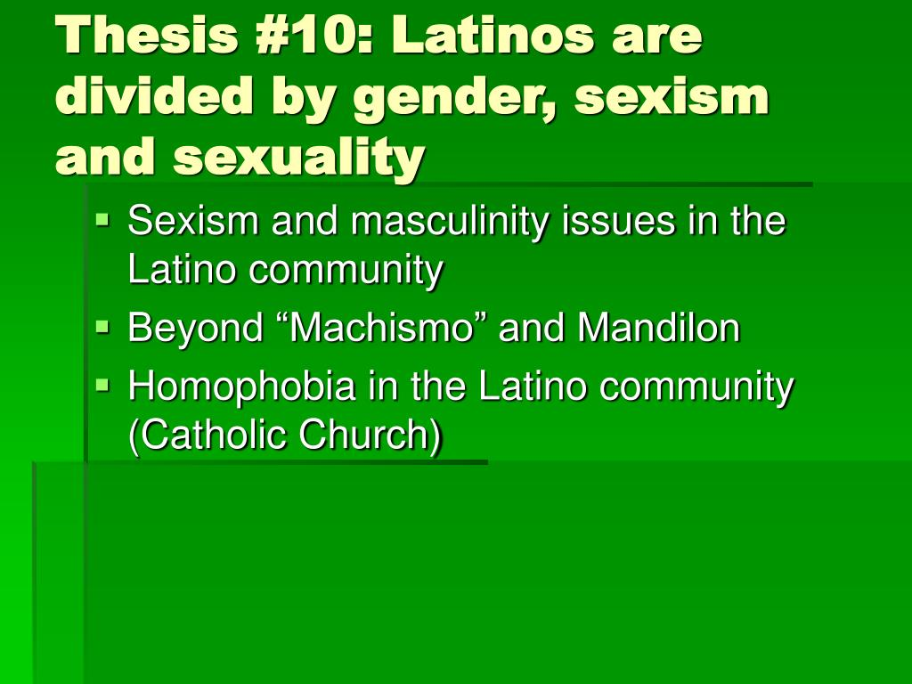 Latino issues thesis professional presentation proofreading sites for mba