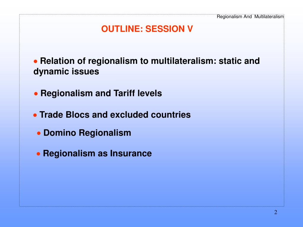Regional & Multilateral Trade Agreements: WTO   International Trade   American Express