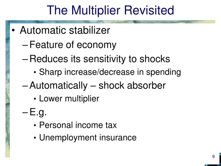 The Multiplier Revisited