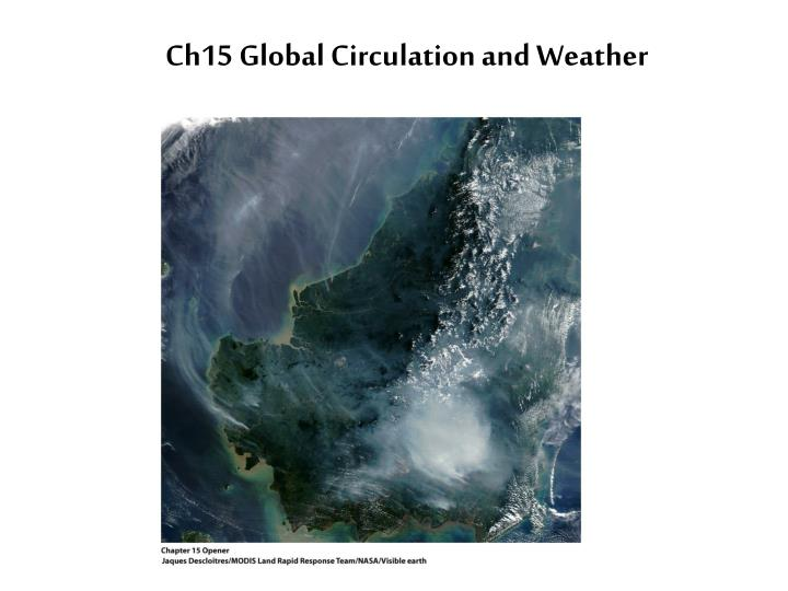 ch15 global circulation and weather n.