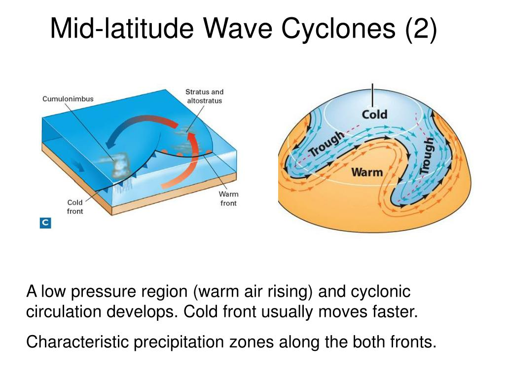 Mid-latitude Wave Cyclones (2)