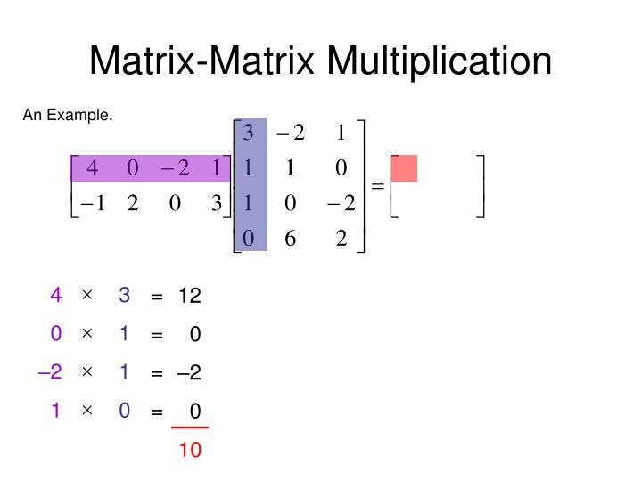 Ppt Matrix Matrix Multiplication Powerpoint Presentation Id1465603