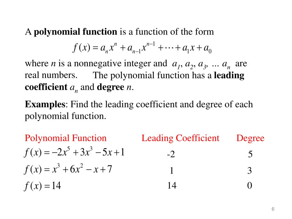ppt  graphs of polynomial functions powerpoint