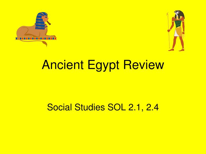 ancient egypt review n.