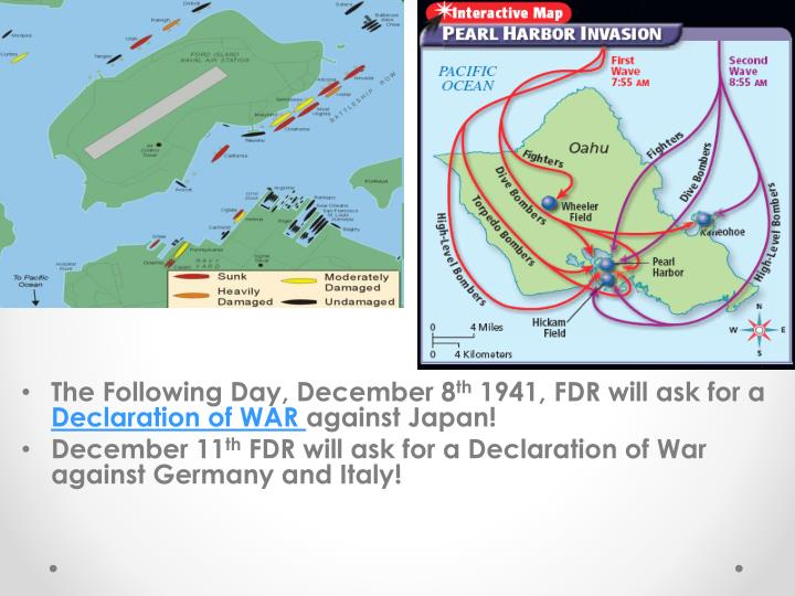 The Following Day, December 8