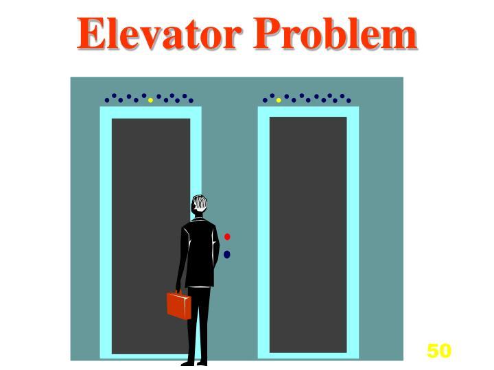 Elevator Problem