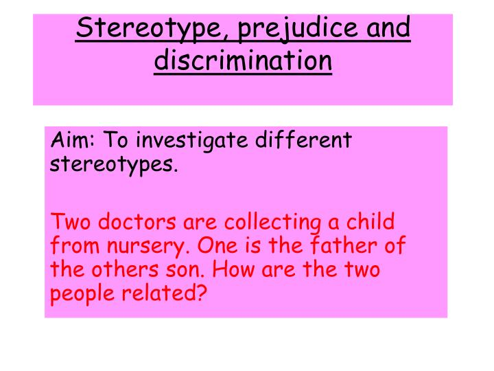 stereotypes prejudice 3 essay Psychological theories of prejudice and 3 stereotype as precisely that psychological theories of prejudice.