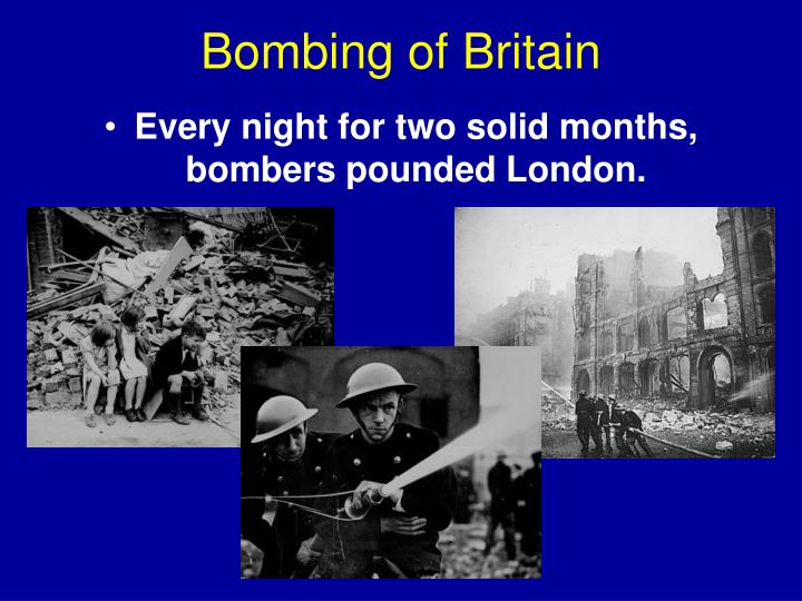 Bombing of Britain