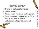 survey layout1