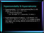 hyperosmolality hypernatremia