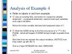 analysis of example 418